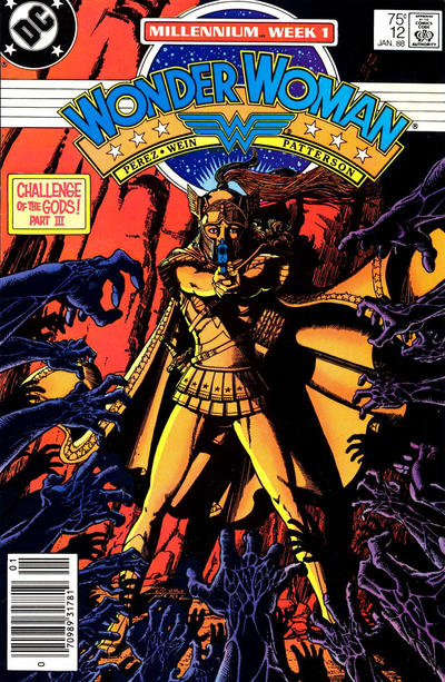 Cover for Wonder Woman (DC, 1987 series) #12 [newsstand]