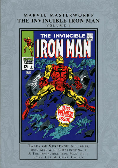 Cover for Marvel Masterworks: The Invincible Iron Man (Marvel, 2003 series) #4 [Regular Edition]