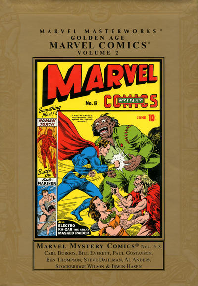Cover for Marvel Masterworks: Golden Age Marvel Comics (Marvel, 2004 series) #2 [Regular Edition]