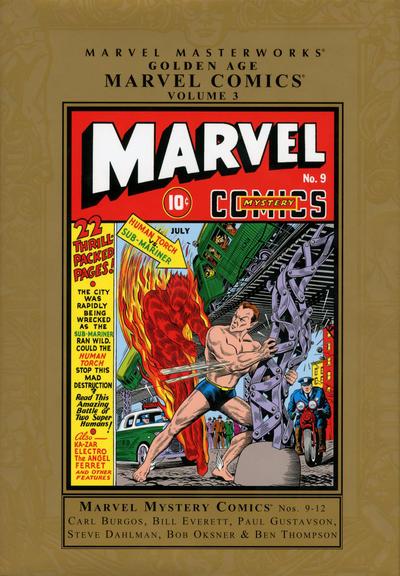 Cover for Marvel Masterworks: Golden Age Marvel Comics (Marvel, 2004 series) #3 (102) [Limited Variant Edition]