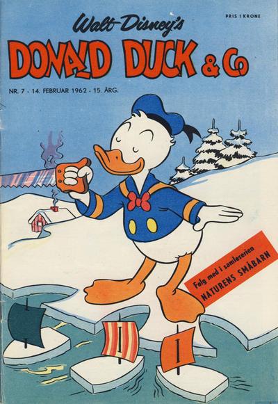 Cover for Donald Duck & Co (Hjemmet / Egmont, 1948 series) #7/1962