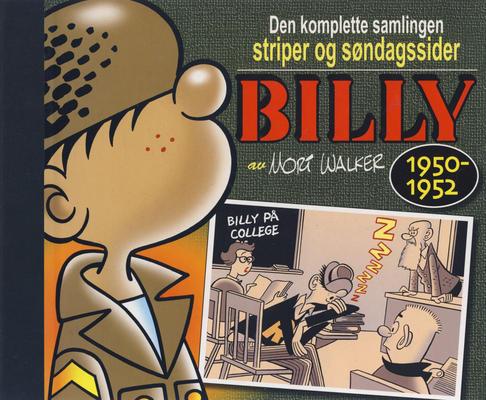 Cover for Billy - Den komplette samlingen striper og søndagssider (Hjemmet / Egmont, 2007 series) #1 - 1950-1952 [1. opplag]