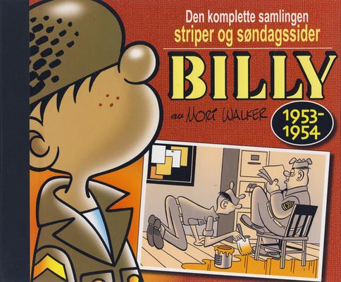 Cover for Billy - Den komplette samlingen striper og søndagssider (Hjemmet / Egmont, 2007 series) #2 - 1953-1954 [1. opplag]