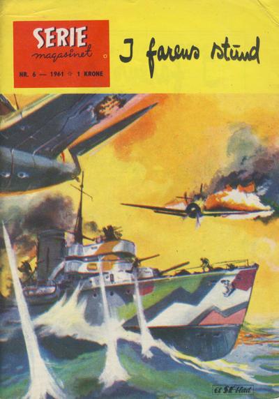 Cover for Seriemagasinet (Serieforlaget / Se-Bladene / Stabenfeldt, 1951 series) #6/1961