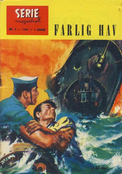 Cover for Seriemagasinet (Serieforlaget / Se-Bladene / Stabenfeldt, 1951 series) #5/1961