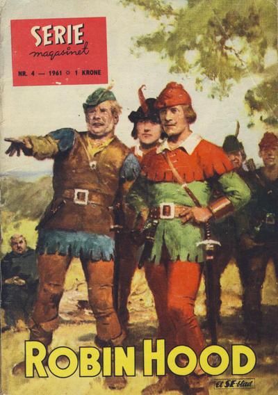 Cover for Seriemagasinet (Serieforlaget / Se-Bladene / Stabenfeldt, 1951 series) #4/1961