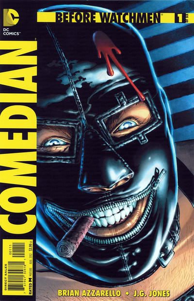 Cover for Before Watchmen: Comedian (DC, 2012 series) #1 [Combo-Pack Variant]
