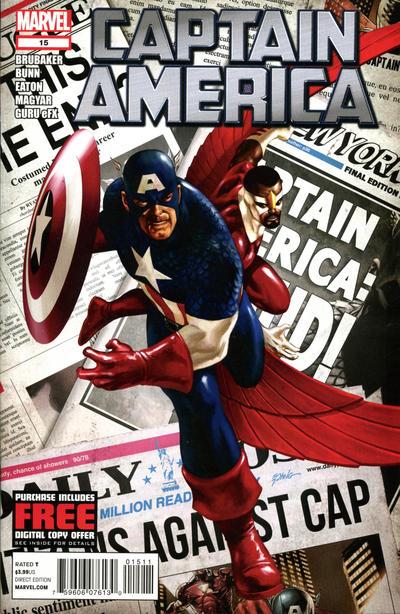 Cover for Captain America (Marvel, 2011 series) #15