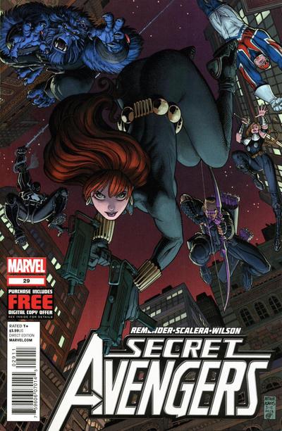 Cover for Secret Avengers (Marvel, 2010 series) #29