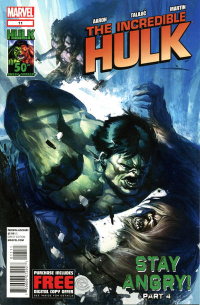 Cover for The Incredible Hulk (Marvel, 2011 series) #11