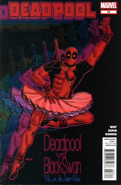 Cover for Deadpool (Marvel, 2008 series) #58