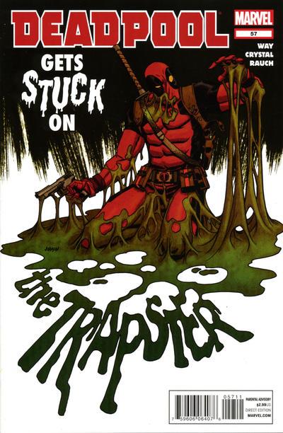 Cover for Deadpool (Marvel, 2008 series) #57