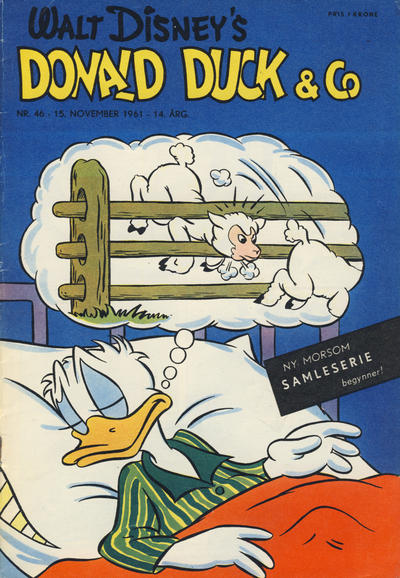 Cover for Donald Duck & Co (Hjemmet / Egmont, 1948 series) #46/1961