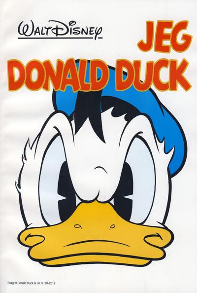 Cover for Bilag til Donald Duck & Co (Hjemmet / Egmont, 1997 series) #28/2012