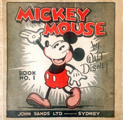 Cover for Mickey Mouse By Walt Disney (John Sands, 1933 series) #1