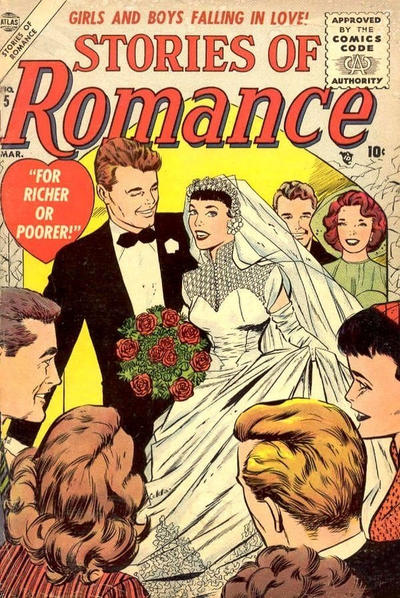 Cover for Stories of Romance (Marvel, 1956 series) #5