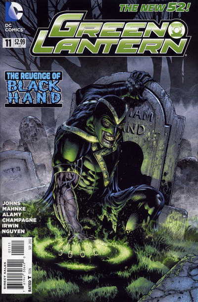 Cover for Green Lantern (DC, 2011 series) #11