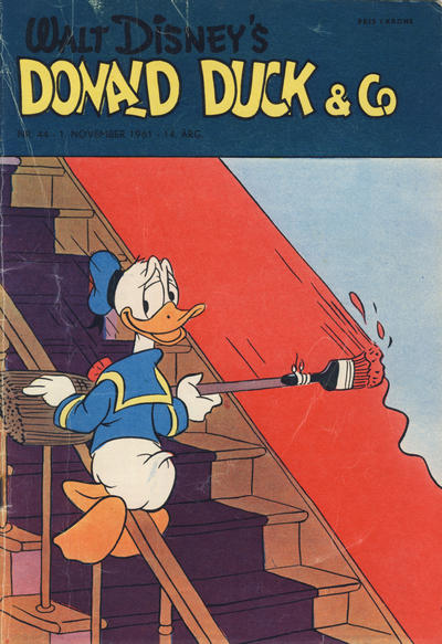 Cover for Donald Duck & Co (Hjemmet / Egmont, 1948 series) #44/1961