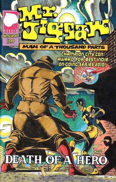Cover for Mr. Jigsaw (Redbud Studio, 2009 series) #8