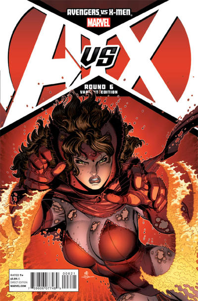 Cover for Avengers vs. X-Men (Marvel, 2012 series) #6 [Bradshaw Variant Cover]