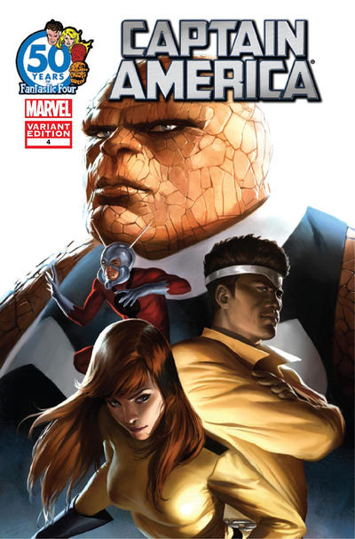 Cover for Captain America (Marvel, 2011 series) #4