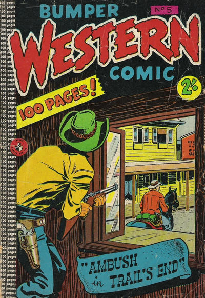 Cover for Bumper Western Comic (K. G. Murray, 1959 series) #5