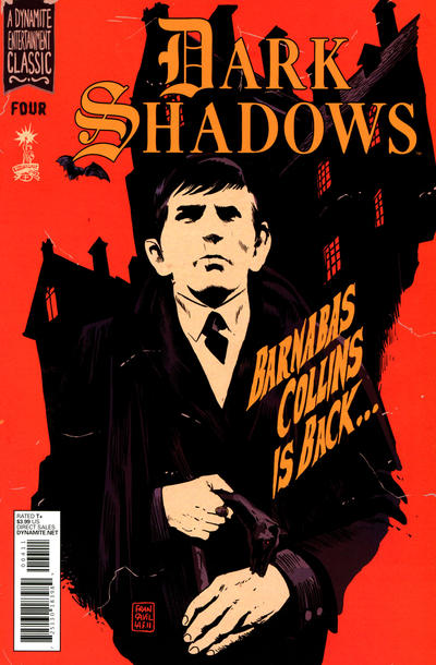Cover for Dark Shadows (Dynamite Entertainment, 2011 series) #4