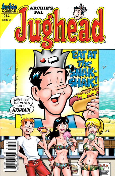 Cover for Archie's Pal Jughead Comics (Archie, 1993 series) #214
