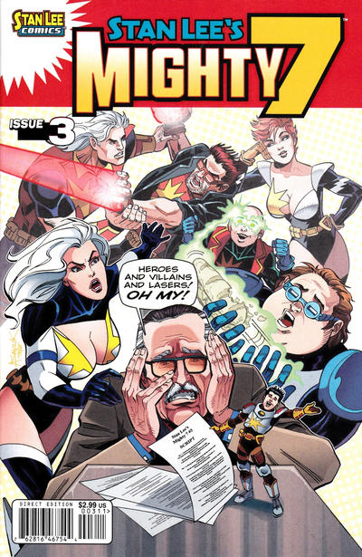 Cover for Stan Lee's Mighty 7 (Archie, 2012 series) #3