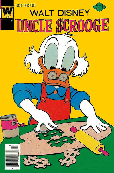 Cover for Uncle Scrooge (Western, 1963 series) #146 [Whitman Variant]