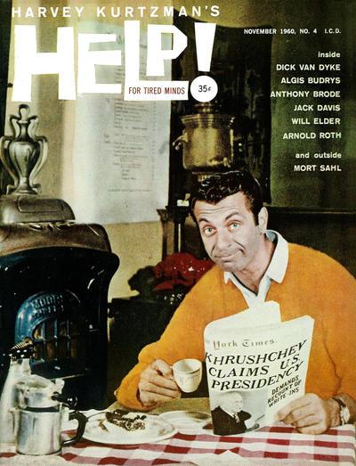 Cover for Help! (Warren, 1960 series) #v1#4