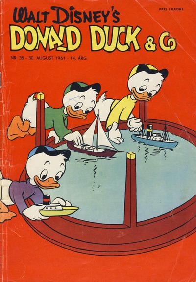 Cover for Donald Duck & Co (Hjemmet / Egmont, 1948 series) #35/1961