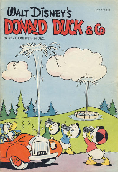 Cover for Donald Duck & Co (Hjemmet / Egmont, 1948 series) #23/1961