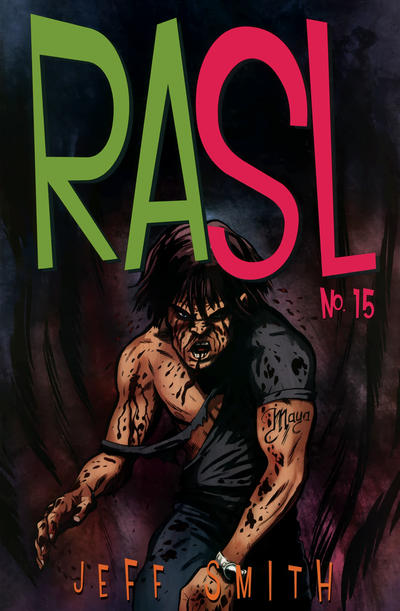 Cover for RASL (Cartoon Books, 2008 series) #15