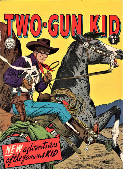 Cover for Two-Gun Kid (Horwitz, 1954 series) #46