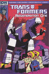 Cover Thumbnail for Transformers: Regeneration One (2012 series) #82 [Cover RI - Incentive Geoff Senior Variant]