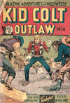 Cover for Kid Colt Outlaw (Horwitz, 1952 ? series) #4