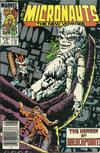 Cover Thumbnail for Micronauts (1984 series) #11 [Newsstand]