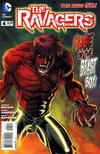 Cover for The Ravagers (DC, 2012 series) #4