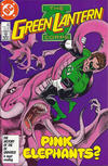Cover for The Green Lantern Corps (DC, 1986 series) #211 [Direct]