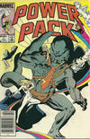 Cover for Power Pack (Marvel, 1984 series) #7 [Newsstand]