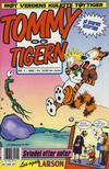 Cover for Tommy og Tigern (Bladkompaniet / Schibsted, 1989 series) #7/1992