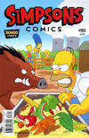 Cover for Simpsons Comics (Bongo, 1993 series) #193