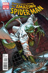 Cover for The Amazing Spider-Man (Marvel, 1999 series) #690 [Lizard Variant]