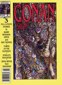Cover Thumbnail for Conan Saga (Marvel, 1987 series) #2 [Newsstand]
