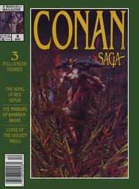 Cover Thumbnail for Conan Saga (Marvel, 1987 series) #8 [Newsstand]