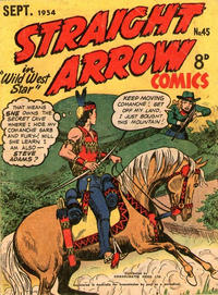 Cover Thumbnail for Straight Arrow Comics (Magazine Management, 1950 series) #45