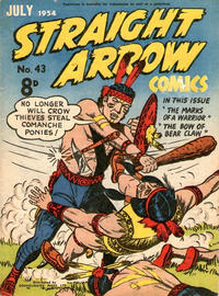 Cover Thumbnail for Straight Arrow Comics (Magazine Management, 1950 series) #43