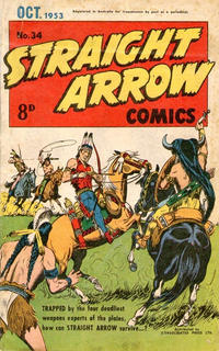 Cover Thumbnail for Straight Arrow Comics (Magazine Management, 1950 series) #34