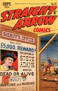 Cover Thumbnail for Straight Arrow Comics (Magazine Management, 1950 series) #33